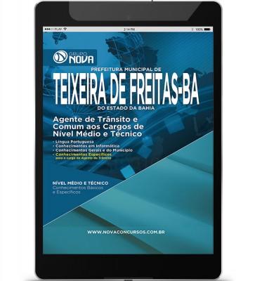 Agente de Trânsito e Comum Nível Médio e Técnico (Digital)
