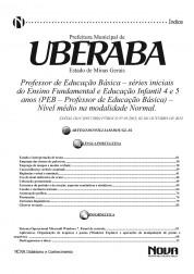 Professor de Educação Básica(Séries Iniciais do Ensino Fundamental e Educação Infantil) (Digital)