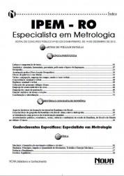Especialista em Metrologia