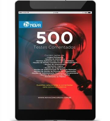500 Testes Comentados (Digital)