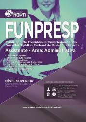 Apostila FUNPRESP - Assistente - Área: Administrativa