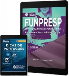 Download Apostila FUNPRESP - Assistente - Área: Administrativa