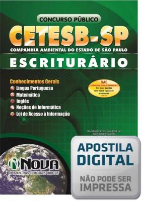 Escriturário - CETESB - SP