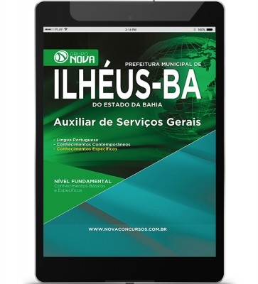 Auxiliar de Serviços Gerais (Digital)