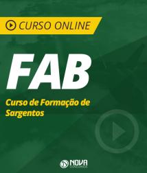 Curso Online FAB - Curso de Formação de Sargentos da Aeronáutica