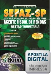 Agente Fiscal de Rendas - Prova I