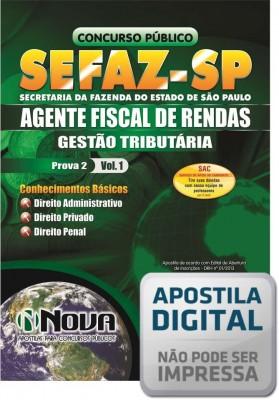 Agente Fiscal de Rendas - Prova II