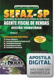 Agente Fiscal de Rendas - Prova III