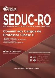 Apostila SEDUC - RO - Comum aos Cargos de Professor Classe C