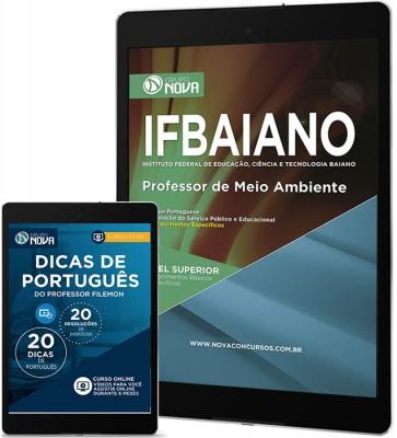 Download Apostila IFBAIANO - BA PDF – Professor de Meio Ambiente