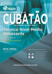 Técnico Nível Médio - Almoxarife (Impresso)