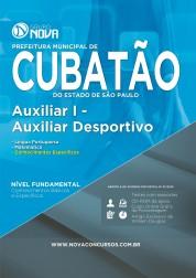Técnico Nível Médio - Auxiliar Desportivo (Impresso)