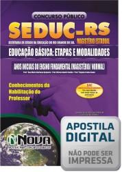 Educação Básica - Etapas e Modalidades