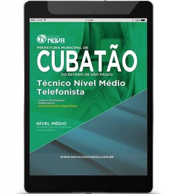 Técnico Nível Médio - Telefonista (Digital)