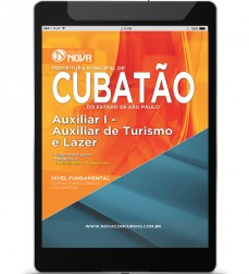 Auxiliar de Turismo e Lazer (Digital)
