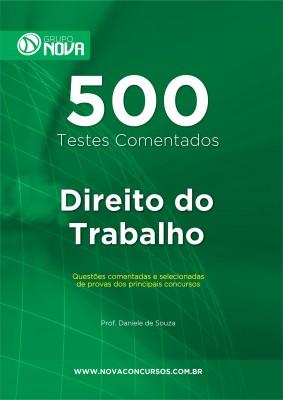 500 Testes de Direito do Trabalho (Impresso)