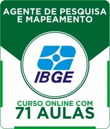 Curso Online IBGE - Agente de Pesquisa e Mapeamento