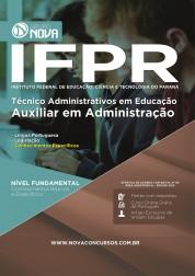Apostila IFPR - Auxiliar em Administração
