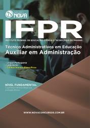 Download Apostila IFPR Pdf- Auxiliar em Administração