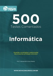 500 Testes de Informática (Impresso)