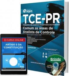 Apostila TCE PR – Comum as áreas de Analista de Controle