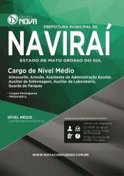 Apostila Naviraí – Comum aos cargos de Nível Médio