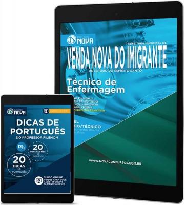 Download Apostila Prefeitura de Venda Nova do Imigrante – Técnico de Enfermagem