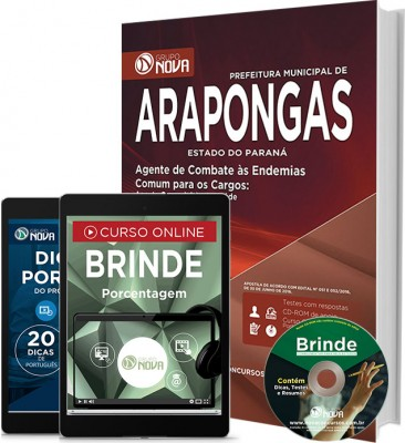 Apostila Arapongas – Agente de Combate às Endemias