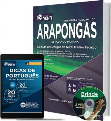 Apostila Arapongas – Comum aos cargos de nível Médio Tecnico