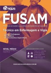 Apostila FUSAM – Técnico de Enfermagem e Vigia
