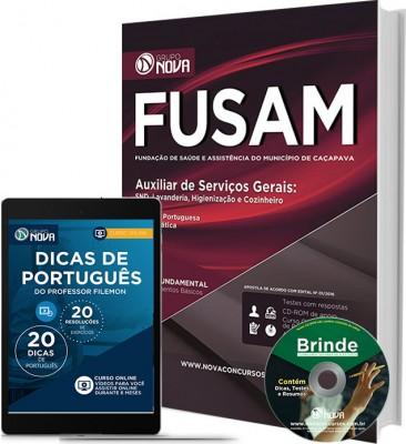 Apostila FUSAM – Auxiliar de Serviços Gerais
