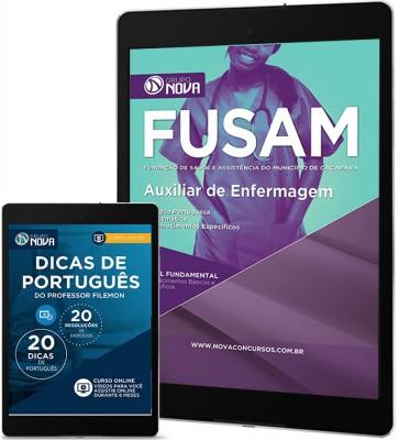 Download Apostila FUSAM – Auxiliar de Enfermagem