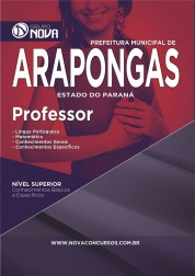 Download Apostila Arapongas – Professor