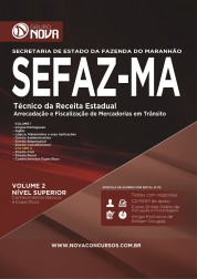 Apostila SEFAZ - MA – Técnico da Receita Estadual