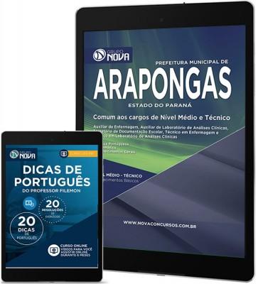 Download Apostila Arapongas – Comum aos cargos de nível Médio|Tecnico