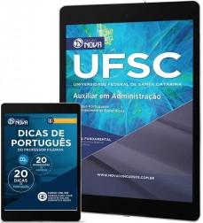 Download Apostila UFSC - Auxiliar Administrativo