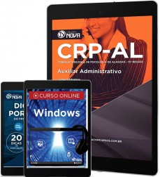 Download Apostila CRP AL - Auxiliar Administrativo