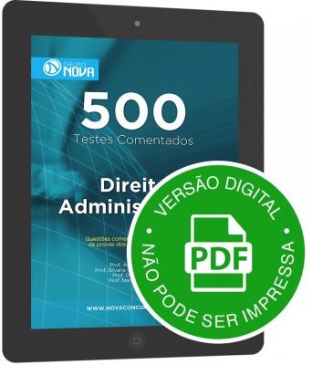 500 Testes de Direito Administrativo (Digital)
