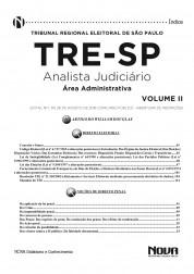 Apostila TRE SP - Analista Judiciário - Área Administrativa