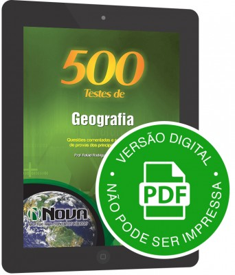500 Testes de Geografia (Digital)