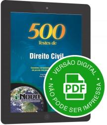500 Testes de Direito Civil (Digital)