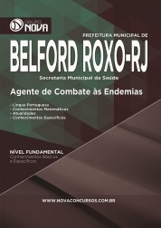 Download Apostila Belford Roxo - Agente de Combate às Endemias
