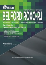 Download Apostila Belford Roxo - Auxiliar de Desenvolvimento Infantil