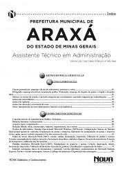 Apostila Araxá - Assistente Técnico em Administração I