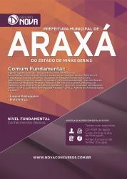 Apostila Araxá - Comum aos cargos de Nível Fundamental
