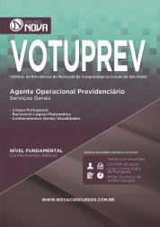 Apostila VOTUPREV – Agente Operacional Previdenciário