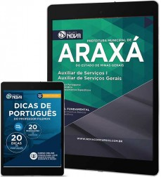 Download Apostila Araxá - Auxiliar de Serviços I e Auxiliar de Serviços Gerais