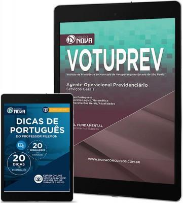 Download Apostila VOTUPREV – Agente Operacional Previdenciário