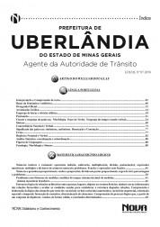 Apostila Uberlândia – Agente da Autoridade de Trânsito