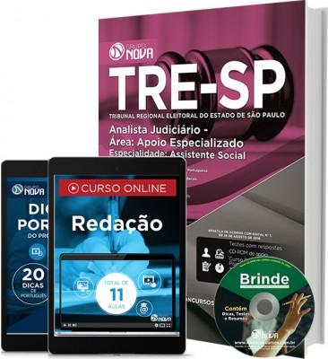 Apostila TRE SP - Analista Judiciário - Especialidade: Assistência Social